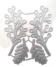 Wykrojnik Zestaw gałązek 4el. (W424)