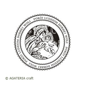 (AG) Stempel  Koło - Pokój ludziom dobrej woli S13