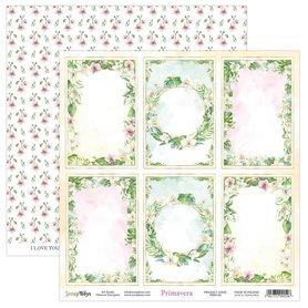 Arkusz papieru SB 30x30cm - Primavera 06