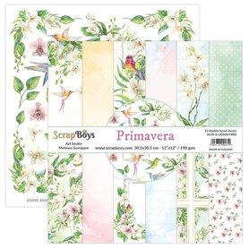 Zestaw papierów SB 30x30cm - Primavera