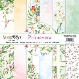 Zestaw papierów SB 15x15cm - Primavera