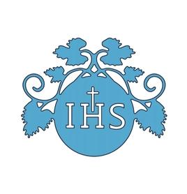 Wykrojnik Hostia IHS z winoroślą Komunia (0470)