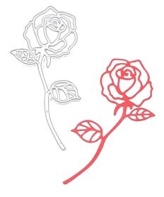 Wykrojnik Róża (W409)
