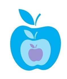 Wykrojnik Zestaw trzech jabłek Jabłko (W119)