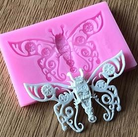 Foremka silikonowa Motyl ażurowy