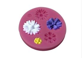 Foremka silikonowa Zestaw kwiatów
