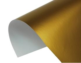 Papier jednokolorowy Złoty