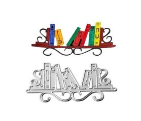 Wykrojnik Półka z książkami (W345)
