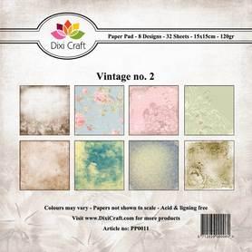 Papiery Dixi Craft - 15x15cm Vintage 2 PP0011