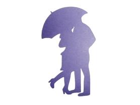 (P28) Para pod parasolką