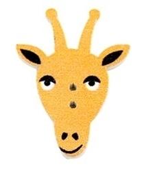 SCRAPKI Guzik Żyrafa