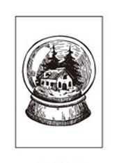 Stempel Kula śnieżna