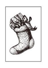 Stempel Skarpeta świąteczna