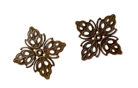 (OM1) Motyw Ornament ażurowy kwadratowy 2 szt.