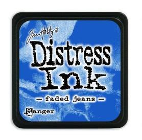 Tusz Mini Distress Ink Ranger - faded jeans