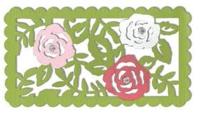 Wykrojnik Sizzix Thinlits - Rose Vines