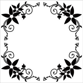 Folder do embossingu Ramka 13x13cm EFE010