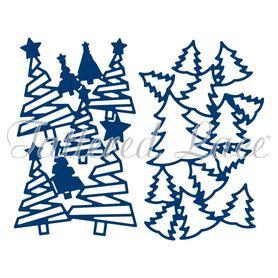 Wykrojnik Tattered Lace Tuck In Trees