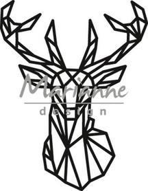 Wykrojnik Marianne Design - Geometric Deer Jeleń