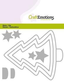 Wykrojnik Craft Emotions - Edges Pine Tree Choinka