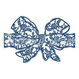 Wykrojnik Tattered Lace Fragrance Lace Bow