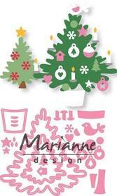 Wykrojnik Marianne Design Eline' Christmas Tree