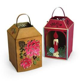 Wykrojnik Sizzix Thinlits Winter Lantern 10 el