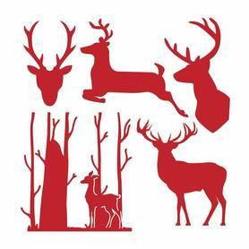 Wykrojnik First Edition Reindeers - Renifery