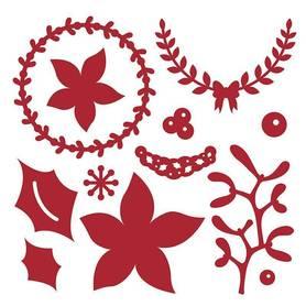 Wykrojnik First Edition Święta Motywy Rośliny