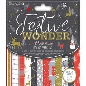 Zestaw papierów Festive Wonder 15x15