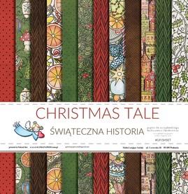 Zestaw papierów Świąteczna historia 30x30cm