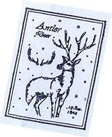 Stempel Renifer 2