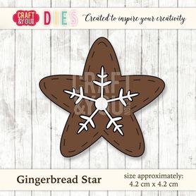 Wykrojnik Gingerbread Star - Gwiazdka z piernika