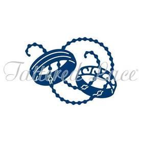 Wykrojnik Tattered Lace - Wedding Rings - Obrączki