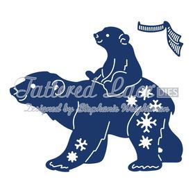 Wykrojnik - Tattered Lace - Polar Bears