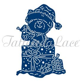 Wykrojnik - Tattered Lace - Cherished Darlings Teddy Bear