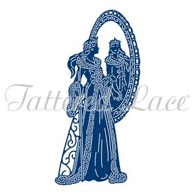 Wykrojnik - Tattered Lace - Winter Bride