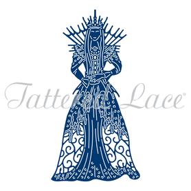 Wykrojnik - Tattered Lace - Queen of Snowflakes