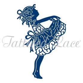 Wykrojnik - Tattered Lace - Little Girl
