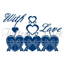 Wykrojnik - Tattered Lace  Harmony With Love