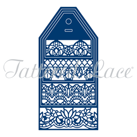 Wykrojnik - Tattered Lace  Tactile Beauty Tags