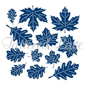 Wykrojnik - Tattered Lace  Charisma Swift Oak and Maple Leaves