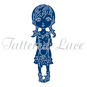 Wykrojnik Tattered Lace Cherished Darling Lillian