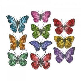 Wykrojnik Sizzix Framelits Flutter Motyle 20 el.