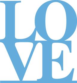 Wykrojnik Napis LOVE