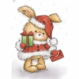 Stempel WRS Christmas Bunny Królik