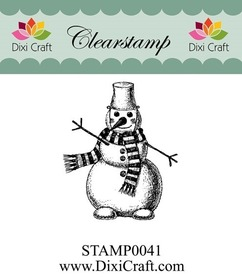 Stempel - Dixi Craft - STAMP0041 Bałwanek