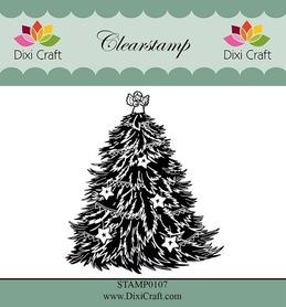 Stempel - Dixi Craft - 0107 - Choinka