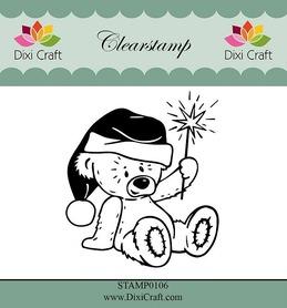 Stempel - Dixi Craft - 0106 - Miś
