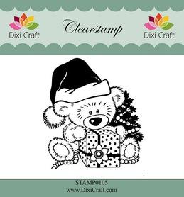 Stempel - Dixi Craft - 0105 - Miś
